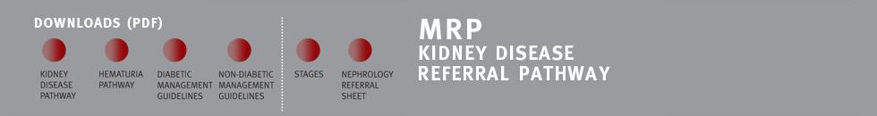 MRP Chronic Kidney Disease Stages