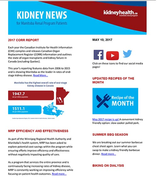 Kidney News for Patients