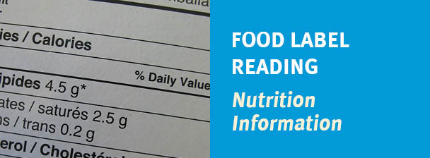 Food Label Reading