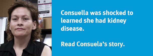 Taken by surprise - Consuela's diagnosis story